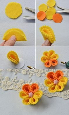 Do you want to make this yellow brooch? LC.Pandahall.com will publish the tutorial soon.