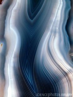 Concentric Banding In Agate Canvas Print / Canvas Art by Dirk Wiersma