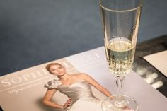 our brides & families enjoyed a glass of champagne