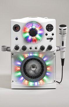 Singing Machine Karaoke System with Disco Lights   Nordstrom