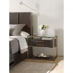 Curata Nightstand - Suite Relief - Bedroom - Room Ideas