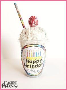 Student Birthdays Made Easy! - *Teaching Maddeness*
