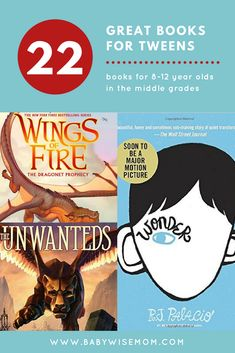 22 Chapter Books for PreTeens {Ages 8-12}. These books are perfect for the tween crowd. #chapterbooks #preteens #bookstoread