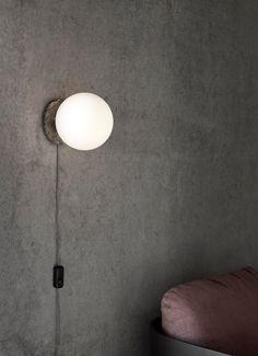 MENU | TR Bulb Wall Lamp by Tim Rundle, Shot by Mikkel Rahr Mortensen