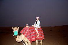 Camel ride  #dubai #desert #safari