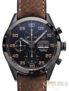 TAG Heuer Carrera Automatik Chronograph Ref. Tag Heuer Carrera Calibre, Watch Engraving, Seiko Diver, Skeleton Watches, Swiss Army Watches, Patek Philippe, Luxury Watches For Men, Beautiful Watches, Men's Accessories