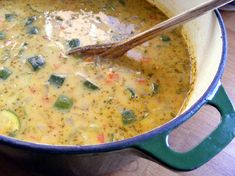African Peanut Quinoa Soup.  Simply the best soup you'll ever eat.  Tastes even better as leftovers.