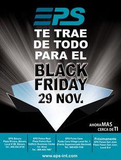 EPS te trae de todo para el Black Friday