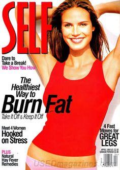 April 1998 cover with Heidi Klum Glamour Magazine, Ways To Burn Fat, Princess Caroline, Cover Model, Top Models, Heidi Klum, Magazine Covers, Fat Burning, Supermodels