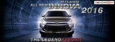Tampilan Depan Toyota Kijang Innova 2016