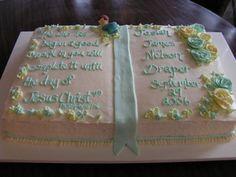 baby dedication cake - Google Search Baby Dedication Cake, Google Search, Day, Desserts, Food, Tailgate Desserts, Deserts, Eten, Postres