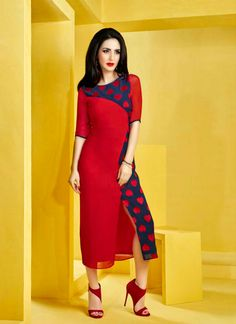 http://www.sareesaga.com/index.php?route=product/product&product_id=37914 Work:Embroidered Style:Designer Kurti Shipping Time:10 to 12 Days Occasion:Party Fabric:Georgette Colour:Red Customer Support : +91-7285038915, +91-7405449283