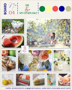 """Inspiration Board nº4 """"Me & My other half"""""""