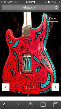 Custom Hendrix Voodoo Strat