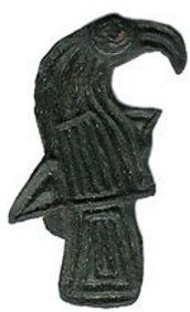Viking Age Raven Brooch  8th Century CE, Scandinavia
