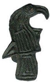 Viking Age Raven Brooch  8th Century CE, Scandinavia