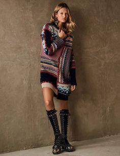 knitGrandeur Fair Isle Patchwork-Vogue Germany F/W 2017