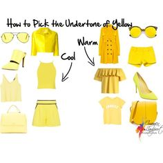 How to pick the undertone of yellow