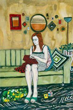 SELECTED WORKS BY RAFFI KALENDERIAN | Gwendolyn | www.bocadolobo.com #greatartists #artists