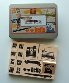 Take a look at this Glitz Design Color Me Happy Rubber Stamp Kit on zulily today!