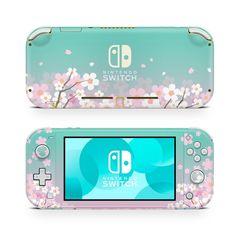Nintendo Lite, Nintendo Switch System, Nintendo Switch Case, Blue Game, Nintendo Switch Accessories, Gaming Room Setup, Sakura Cherry Blossom, Kawaii Room, Cute Games