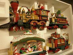 Christmas Tree Train Set Merry Christmas To All Cozy Christmas Vintage Christmas Cards