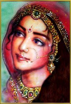 Beautiful radhA rani