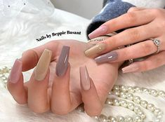 Nails, Color, Beauty, Instagram, Finger Nails, Colour, Ongles, Cosmetology, Nail