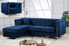 Loretta Reversible Sectional