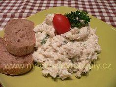 Rybí salát s celerem – Maminčiny recepty Grains, Salads, Cheese, Food, Essen, Meals, Seeds, Yemek, Salad