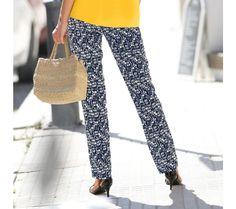 Rovné vzdušné nohavice s potlačou   blancheporte.sk #blancheporte #blancheporteSK #blancheporte_sk #autumn #fall #jesen #nohavice Harem Pants, Fashion, Moda, Harem Trousers, Fashion Styles, Harlem Pants, Fashion Illustrations