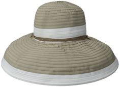 Physician Endorsed Women's Gemini Ribbon Chin Strap Packable Hat Rated UPF 50  ** Startling review available here  : Best Travel accessories for women