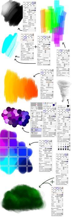 PaintToolSAI brush settings 3 by M42NGC1976.deviantart.com on @DeviantArt