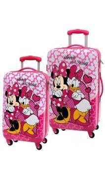 Juego de maletas Minnie & Daisy