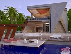 Top Modern Houses Forever - Engineering Discoveries Modern Fence Design, Best Modern House Design, Minimalist House Design, House Outside Design, House Gate Design, Duplex House Design, Morden House, Architect Design House, Building Foundation