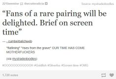 I love the Mystrade shippers. They're just so inspiring to me for some reason.