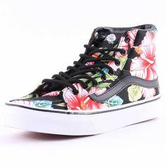 Vans Hawaiian Floral SK8-Hi Slim Womens Trainers
