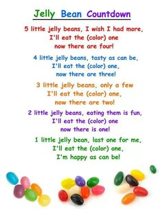 Jelly bean song