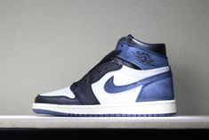 "sports shoes 2ebd2 98553 2018 Air Jordan 1 Retro High OG ""Blue Moon"" 555088-115 Online"