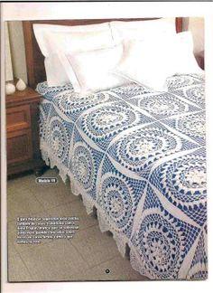 ~ Crochet Style ~: Colcha blanca