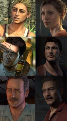 Comparison of Uncharted: Drake's Fortune to Uncharted 4: A Thief's End - GAH, look at my treasure hunting family of precious babies all grown up! I'm NOT crying.