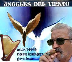 ANTOLOGIA  DEL  POETA  VICENTE  DOMINGUEZ  GARROCHENA: ANGELES  DEL  VIENTO