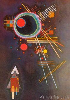 Wassily+Kandinsky+-+Strahlenlinien