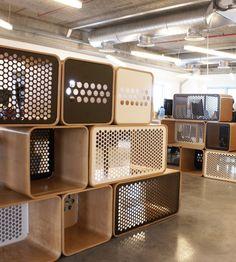 Fiverr headquarters furnish by Rack & Tack