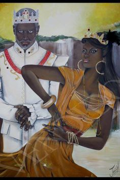 My Orisha Father & Mother! Wonderful! --> Obatala & Oshun