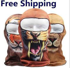 Ski #snowboard balaclava hat animal design #skiing ##snowboarding snood mask ht,  View more on the LINK: 	http://www.zeppy.io/product/gb/2/391389318091/