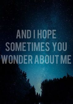 You have no idea how much I wonder what he thinks about me. I can only hope it's something good. Requiem For A Dream, Taylor Swift Songs, Word Up, Song Quotes, Thoughts And Feelings, Music Lyrics, Beautiful Words, Wise Words, Favorite Quotes