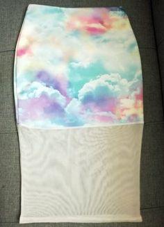 Kup mój przedmiot na #vintedpl http://www.vinted.pl/damska-odziez/spodnice/18820957-pastelowa-spodnica-z-siateczka-pretty-little-thing