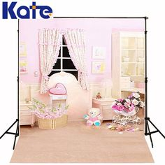 300CM200CMabout 10ft6.5ft backgrounds Bamboo basket of flowers dresser cabinet lamp photography backdrops photo LK 1226
