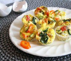 Baked Eggs & Veggies To Go